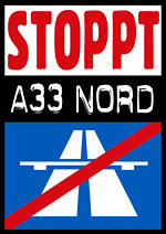 Stoppt A 33 – Nord